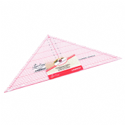 "Sew Easy Patchwork Ruler - 90 Degree Triangle - 7.5"" x 15"""